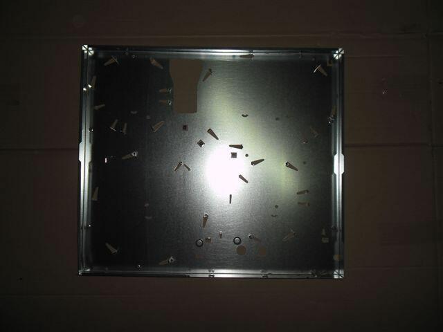 Blacha dolna do płyty ceramicznej Electrolux EHS60...