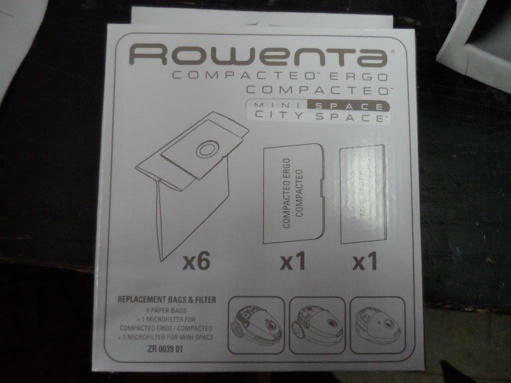 Worki do odkurzacza Moulinex Rowenta RO17... RO18...