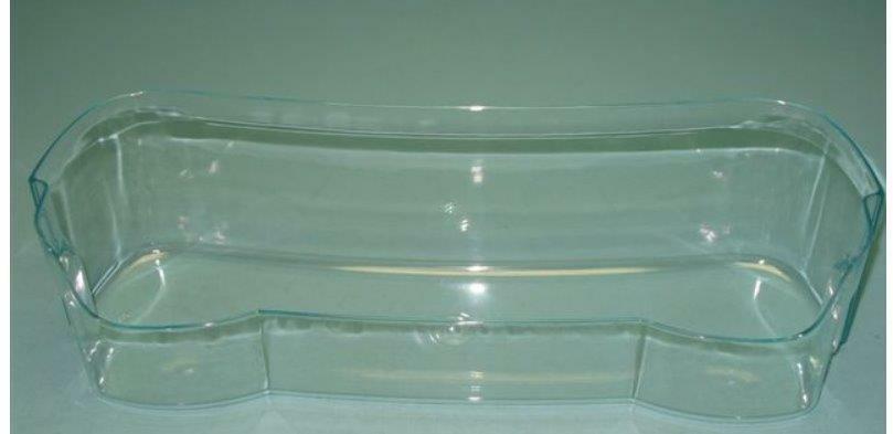Balkonik półka MAXI na butelki do lodowki Amica  niebieski