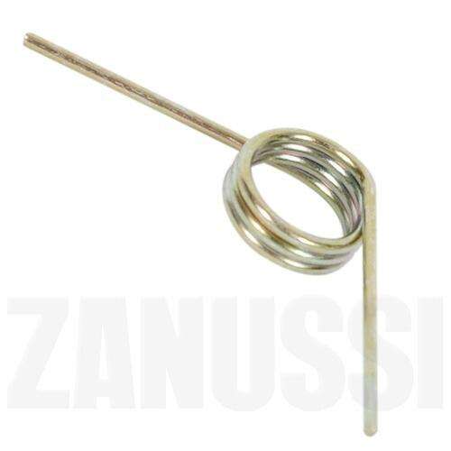 Sprężyna lewego zatrzasku do odkurzacza Electrolux Zanussi