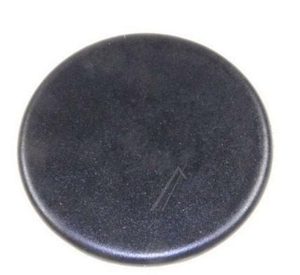 Pokrywka palnika małego kuchenki Electrolux  (czarna, matowa)